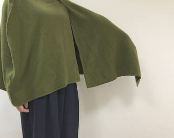 Made to order - Cashmere Poncho