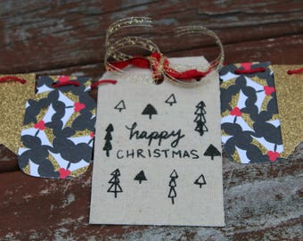 Happy Christmas Bunting