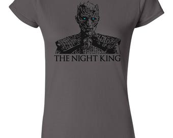 The Night King T-Shirt | Game of Thrones T-Shirt | White Walker Shirt | Winter is Coming