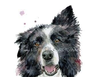 Pet Portrait, Dog Portrait, Pet Painting, Pet Portraits, Dog Illustration, Dog Watercolour, Animal Portrait, Watercolor, Dog Portraits, Pet