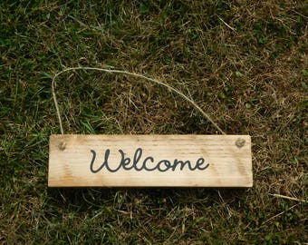 welcome sign, welcome sign rustic, welcome sign home, pallet sign, wooden signs, rustic wood signs, welcome wedding sign, reclaimed wood,