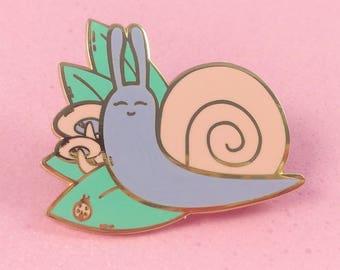 Sweet Snail - Hard Enamel Pin