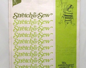 Stretch and Sew Childrens Set In Sleeve Top UNCUT