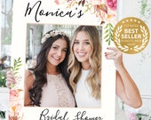 Wedding Photo Prop - Bridal Shower Photo Prop - Antique Rose Photo Prop - DIGITAL FILE - Baby Shower Photo Prop - Printed Option Available