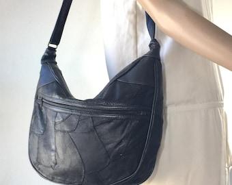 Patchwork Leather Purse, Bag, Shoulder Bag