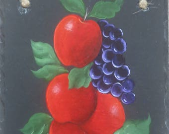 Painted APPSNGRAPES Slate