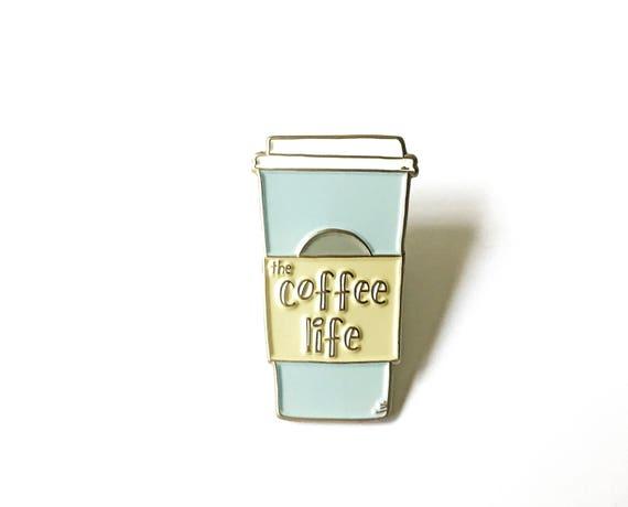 Coffee Pin Silver