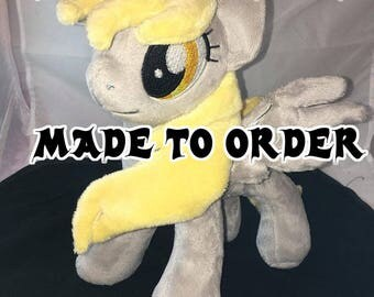Made To Order -- 10 inch Derpy Hooves plush
