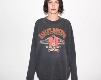 1993 Harley Davidson 90th Anniversary Sweatshirt