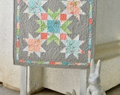 Late Bird PDF Quilt Pattern, Spring Wall Quilt, Mini Quilt Pattern