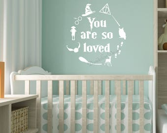 Harry Potter Nursery Etsy