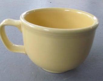 Jumbo Mug in Fiesta Yellow Color Ceramic Mug by Homer Laughlin- Lead Free