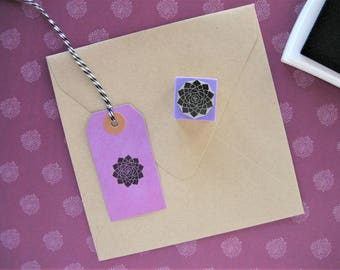 Crown Chakra Stamp. Chakra Stamp. Chakra Rubber Stamp. Mandala Stamp. Sahasrara Stamp. Chakra Symbol. Seventh Chakra Stamp. Sahasrara Chakra