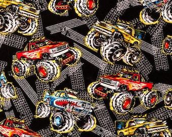 Trucks etsy for Monster jersey fabric