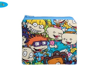 NEW! Rugrats Change Purse | Zip Bag | Nickelodeon Coin Bag