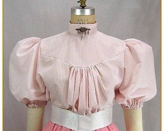Victorian Stripe Blouse