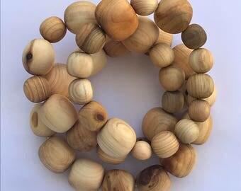 Juniper Wood Bracelet Set of 3