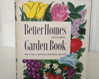 Better Homes & Gardens New Garden Book/1954 Second Edition/Tabs 5 Ringed Binder/Hardback/Color Photos/lindafrenchgallery