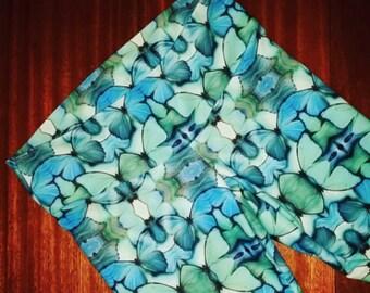Blue Morpho Eco Swim/Yoga Pants
