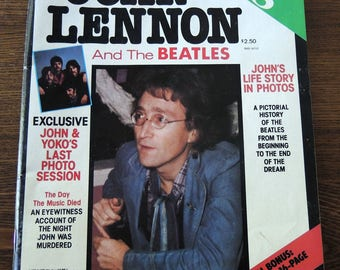 A Tribute to John Lennon From the Editors of US Magazine 1980