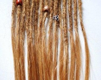 Human hair dreadlock extensions etsy pmusecretfo Images