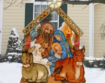 Christmas Nativity Outdoor