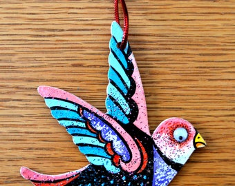 Christmas Songbird Ornament