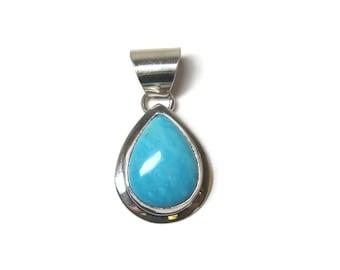 Vintage Southwestern Turquoise Pendant