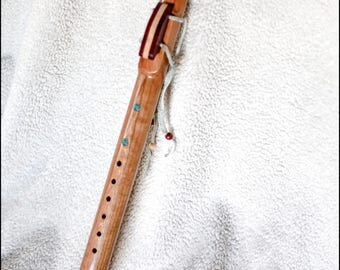 Handmade Native American Style Flute : The White Birch