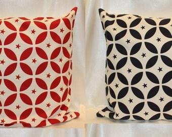 Cushion cover 100% cotton Geo star