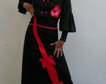 new collection long skirt cotton Red Lizard