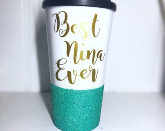 Best Nina Ever/ God Mother/ Mothers Day Gift/ Mothers Day Gift / Fairy God Mother/ Baptism Gift/