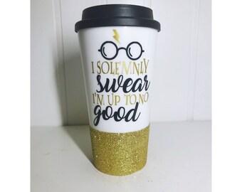 I Solemnly Swear I Am Up To No Good/ Harry Potter Coffee Mug/ Harry Potter/ Harry Potter Birthday Gift