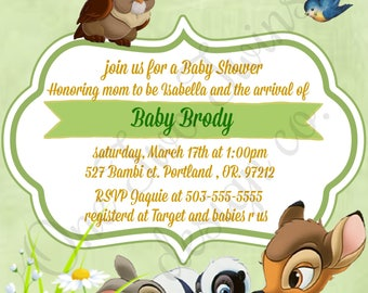 Bambi Baby Shower