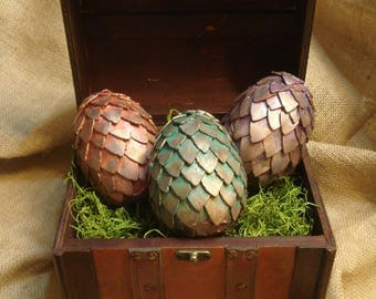 Individual Dragon Egg, Mythical Creature Creation with Scales, Game of Thrones Mother of Dragons, Gift for Dragon Lover, HTTYD GOT Inspired