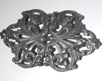 Art Nouveau Silver Buckle