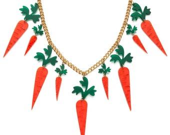 Carrots necklace