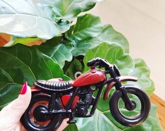 Vintage Metal Motorcycle/ Café Racer Wall Hang