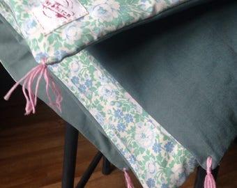 child quilt, bed trailer vintage spirit