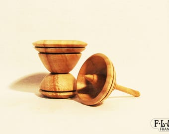 Top with chestnut wood base