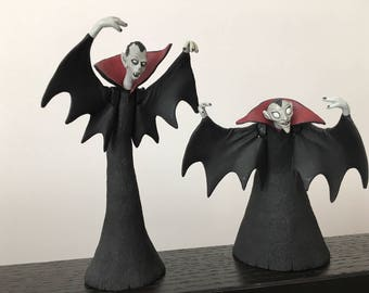 Vampire Brothers figurines from Nightmare Before Christmas