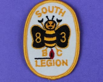 South BC Legion 83 Burnaby BC Vintage Patch