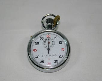 Breitling Stop Watch Swiss Made Pocket Watch