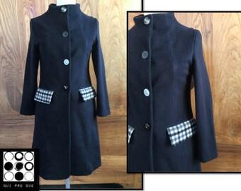Tailored coat handmade in Italy
