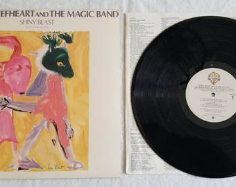 Captain Beefheart and the Magic Band - Shiny Beast (Bat Chain Puller) Vintage Vinyl LP