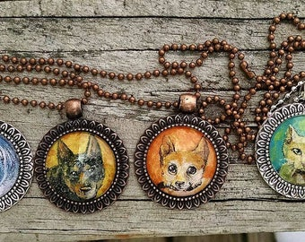 hand painted wearable art wear your pet or favorite critter!