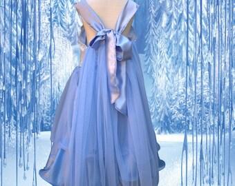Elsa Dress, Elsa Dress For Girls, Frozen Dress, Elsa Costume, Costumes For Girls, Princess Dress, Ice princess dress, Toddler frozen dress