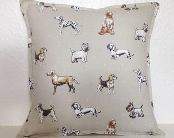 "Cushion Cover, Dogs Cushion Cover 16"" 18"" 20"", Dogs Cushion, Labradors, Dogs Pillow Case, Dogs Pillow, Scatter Cushion, Scatter Pillows"