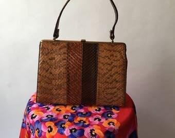 Vintage SnakeSkin Handbag