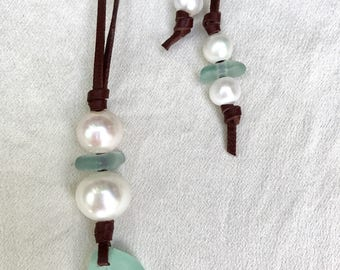 Mermaid Tear Adjustable Length Necklace